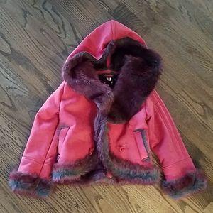 Catimini coat girl size 8